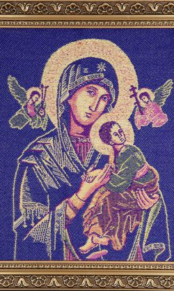 Ikona tkana Maryja kod produktu: MARYB-FNS04