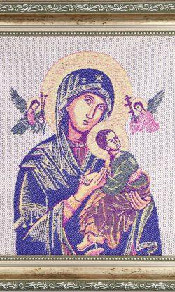 Ikona tkana Maryja kod produktu: MARYW-F05SILV